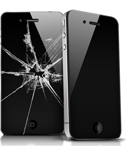 crack phone screen image